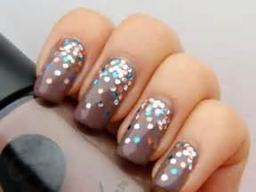 nail color ideas 39 glitter nail ideas