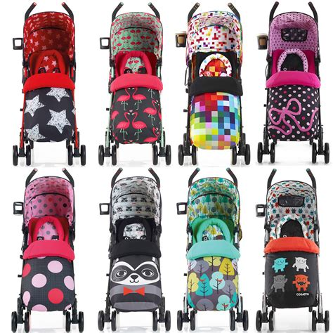 Vb Backpack 683 3in1 1 cosatto supa stroller buggy pushchair with footmuff baby