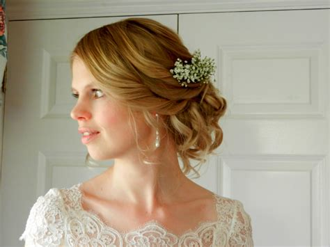Wedding Hair Accessories Gloucestershire by Berkeley Castle Wedding Hairstylist Gloucestershire
