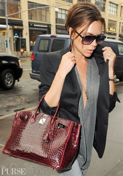 Beckham And Hermes Baccara Crocodile Clutch by Croc Birkin What To Do With Lock And Clochette