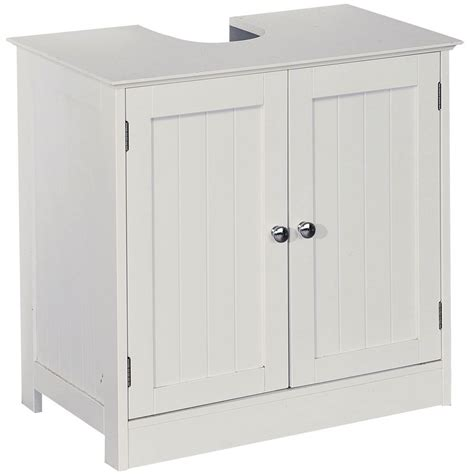 Priano Freestanding Bathroom Cabinet Unit White Vanity Freestanding Bathroom Storage