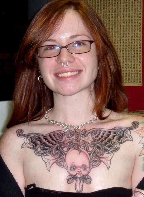 ladies chest tattoos chest photos images pictures fashion and