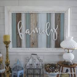 family home decor reclaimed wood signs start at home decor