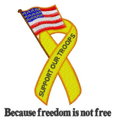 design is not free freedom is not free embroidery designs machine embroidery