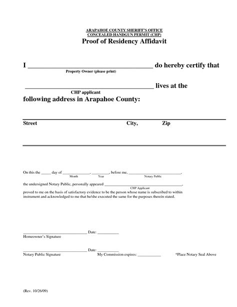 certification letter of residence best photos of proof of residency exles proof of