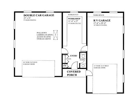 rv storage plans boat storage garage plans 2 car boat storage garage plan