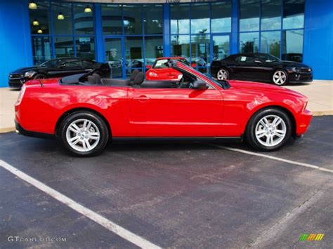 2010 mustang colors 2010 torch ford mustang v6 convertible 86450577