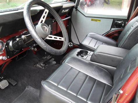 jeep golden eagle interior 1979 jeep cj 5 golden eagle 108973