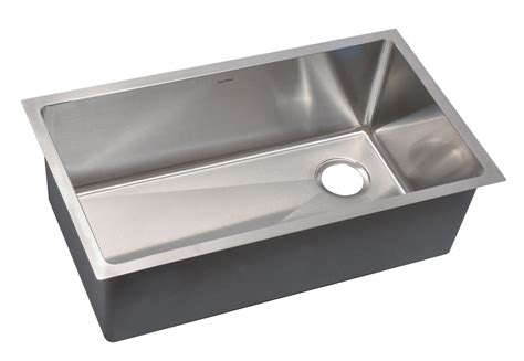 stainless steel single bowl undermount kitchen sink as361 31 25 quot x 18 quot x 10 quot 18g single bowl undermount legend