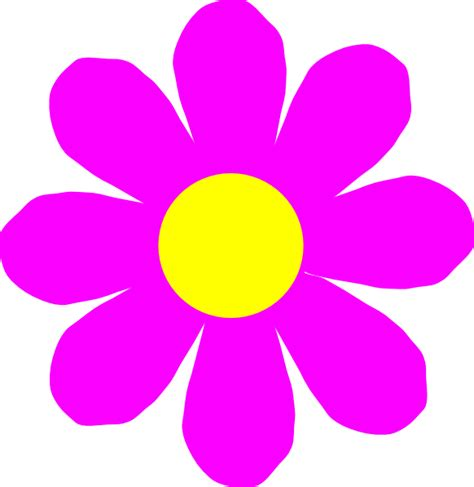 free flower clipart pink flower clip at clker vector clip