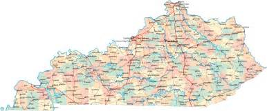 State Of Kentucky Map by Kentucky Road Map Ky Road Map Kentucky Highway Map