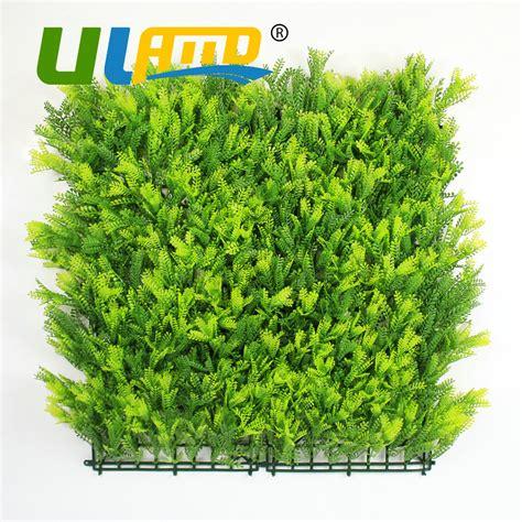 10pcs lot 60x40cm artificial boxwood hedges panels popular indoor plastic fence buy cheap indoor plastic