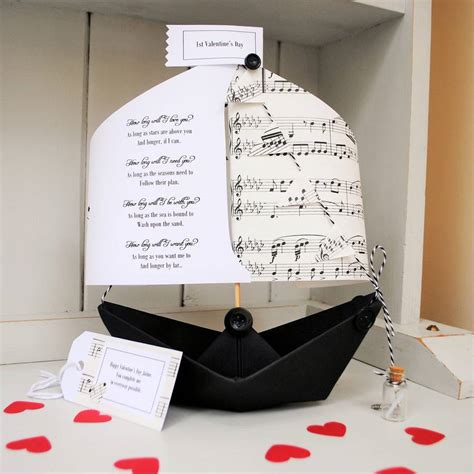 i m sailing on a boat lyrics how long will i love you personalised sailing boat by