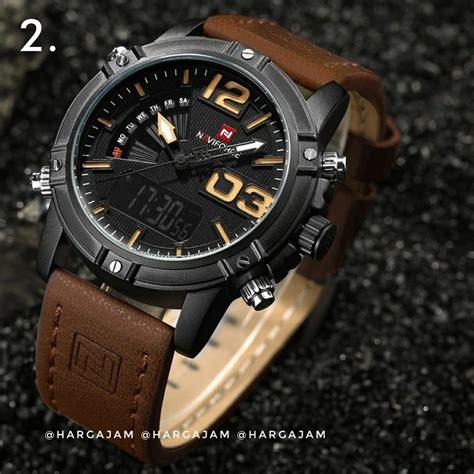 jual anti air jam tangan pria original naviforce