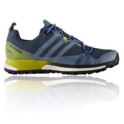 Adidas Sport Running adidas terrex agravic mens blue tex cushioned running