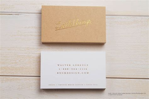 craft paper business cards brown kraft business cards