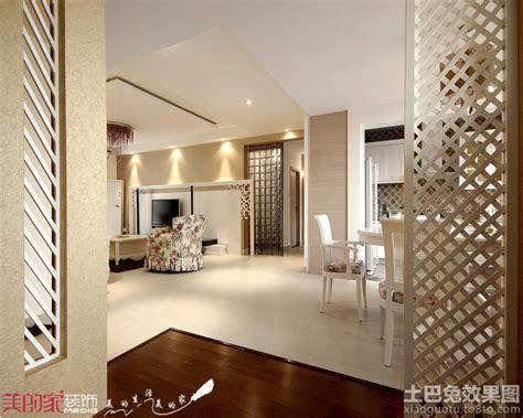 interior partitions for homes 木屏风隔断效果图 土巴兔装修效果图