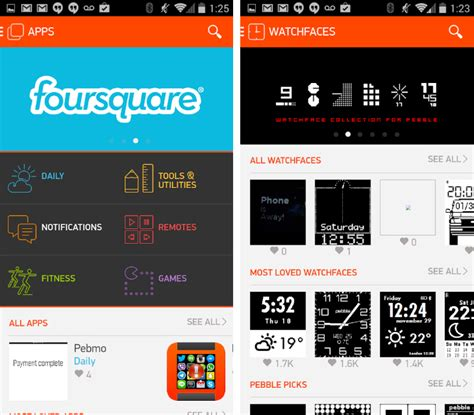 time warner cable app for android pebble launches android appstore