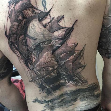 tattoo back ship full back tattoos askideas com