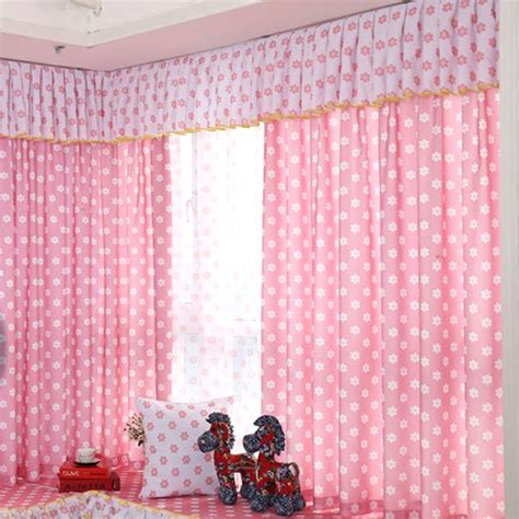 pink and white curtains for nursery pink and white floral nursery bay window curtains