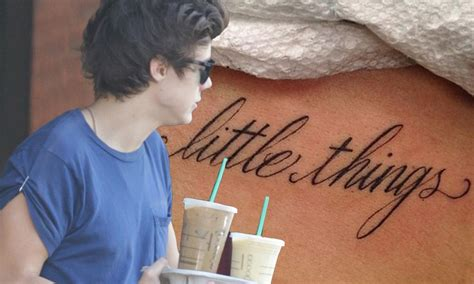 harry styles tattoo jumper australia all those little things harry styles reveals new tattoo