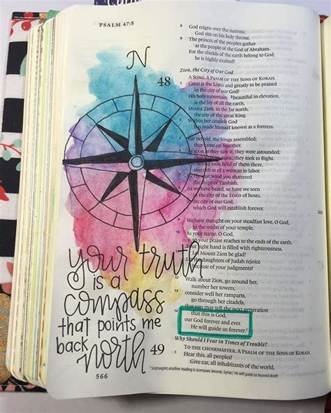 compass tattoo with bible verse 885 best bible journal psalm images on pinterest bible