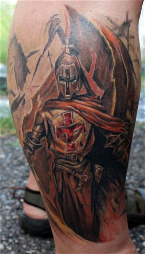 crusader tattoo heaven light templar knights tattoos