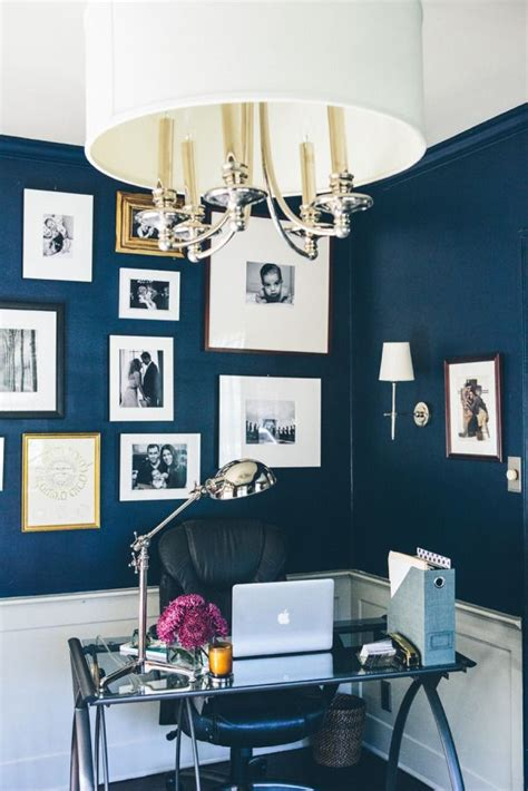 navy blue home decor best 25 blue office ideas on navy office