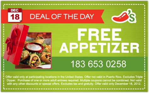 chilis printable coupon free appetizer topic coupons coupon valid