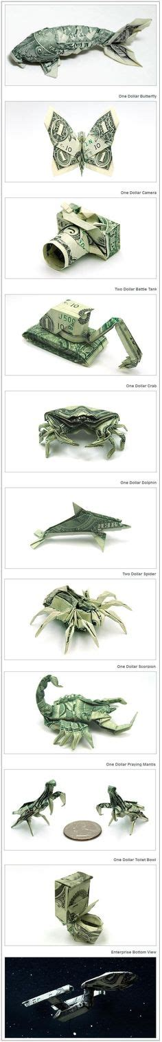 Cool Dollar Bill Origami - 1000 ideas about money origami tutorial on
