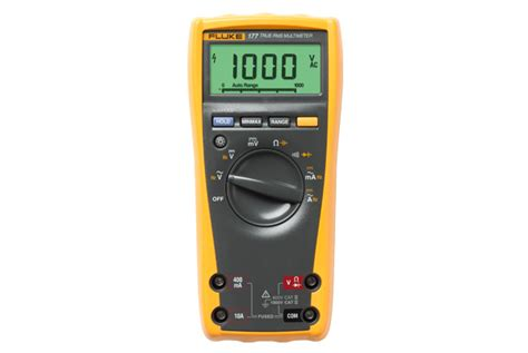 fluke 177 true rms digital multimeter