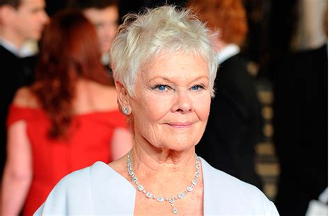 judi dench haircut how to the 5 signs your hair is ageing and what to do about it