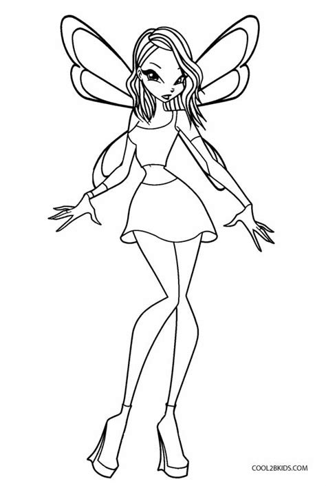 Winx Coloring Pages Printable