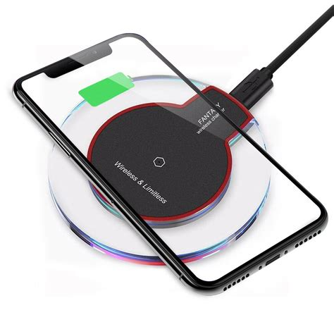 qi wireless charger charging pad for iphone xs max xr 8 plus galaxy note 9 s9 s8 ebay
