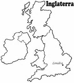 Simple Uk Outline by Mapa De Inglaterra