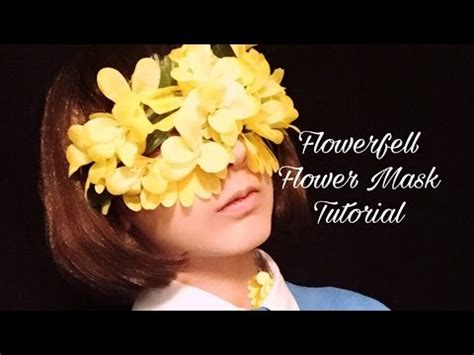 Images Flowers Petals Mask Masker Wajah Flower Mask Tutorial Undertale