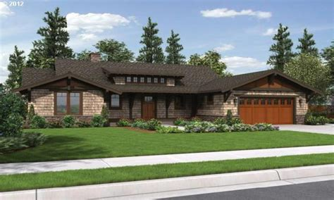 vintage craftsman house plans craftsman style house plans for ranch homes one level houses