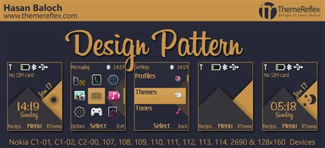 live themes c1 design pattern theme for nokia c1 01 c1 02 c2 00 107