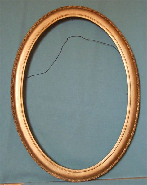 Oval Mat For Picture Frame by Framing Oval Gold Picture Frame Picture Matting From