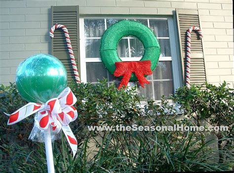 outdoor 8 diameter christmas lollipops whimsical outdoor decorations billingsblessingbags org