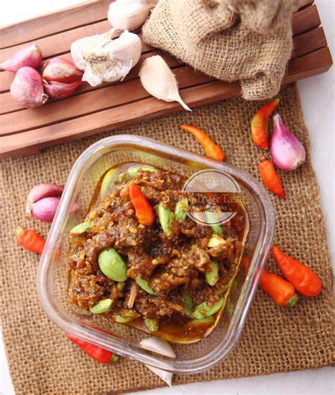 resep sambal bawang teri petai   taste