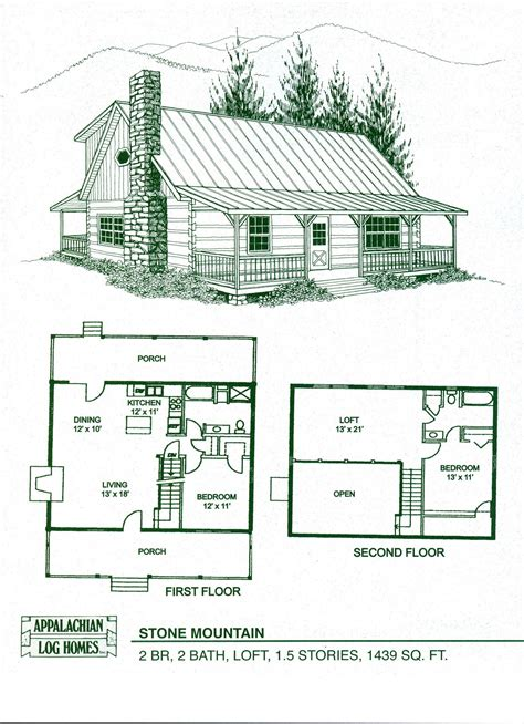 Cabin Plans cabin home plans with loft log home floor plans log