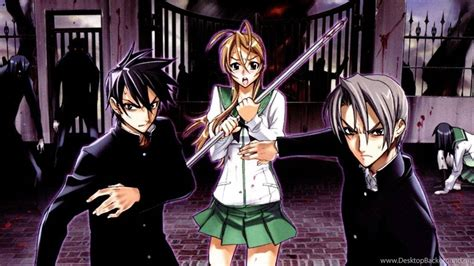 Hotd Navy highschool of the dead highschool of the dead wallpapers