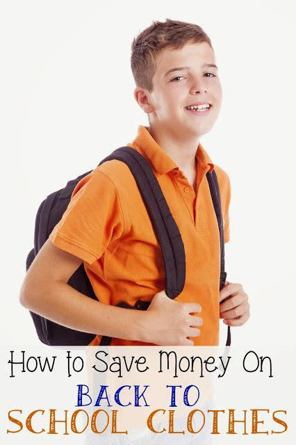 7 Tips On Saving Money On Clothes by Sweet Silly How To Save Money On Back To School Clothes