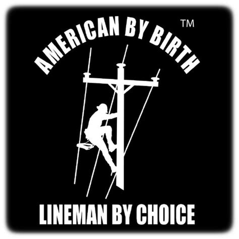 Lineman Stickers For Truck
