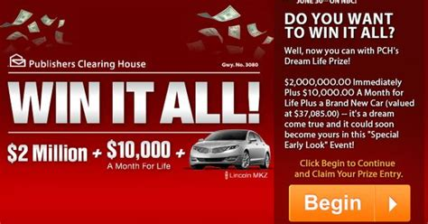 Pch 10 Million Dollar Sweepstakes - win 3 million dollars for your dream home pch sweepstakes html autos weblog