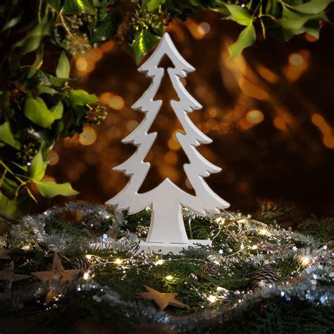 tannenbaum f 252 r fensterbrett skulptur als tischdeko zu - Fensterbrett Weihnachten