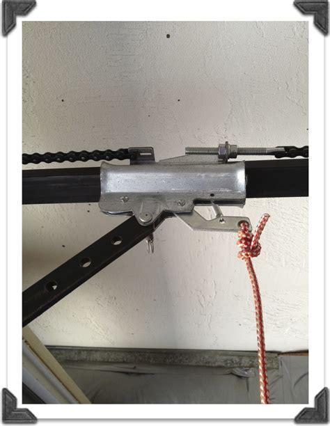 chain hoist garage door opener images