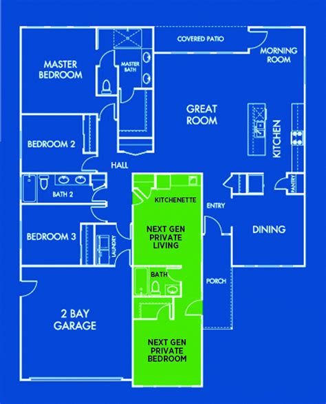 next floor plans lennar next generation homes floor plans