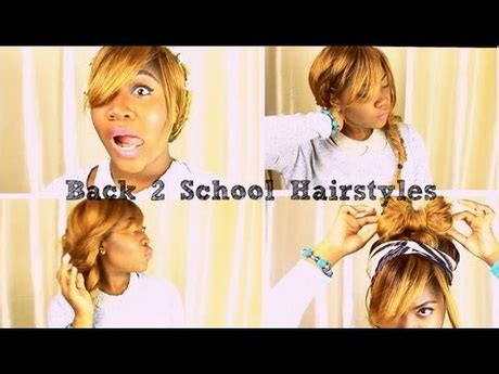 back to school 5 quick and easy hairstyles hairstyles easy and quick for school